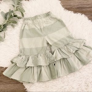 LPersnickety Striped Ruffle Pants